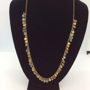Labradorite Fringe Necklace